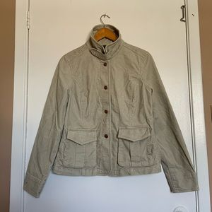 Eddie Bauer coat/jacket very soft caulduroy size M